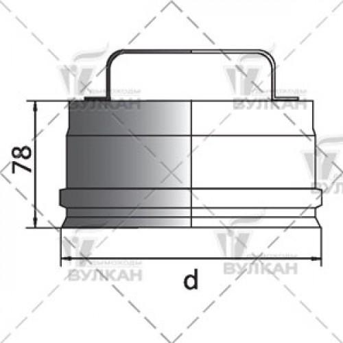 Ревизия (крышка) RHR 150 мм