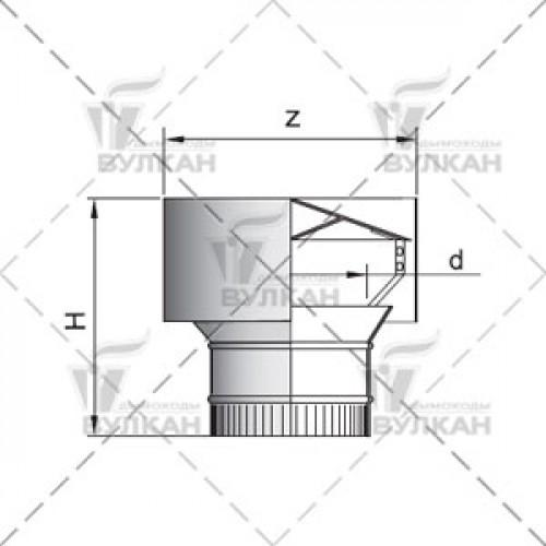 Дефлектор DH 180 мм