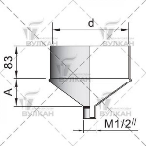 Конденсатосборник DCH 150 мм