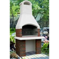 Садовая печь барбекю Дачная Кантри