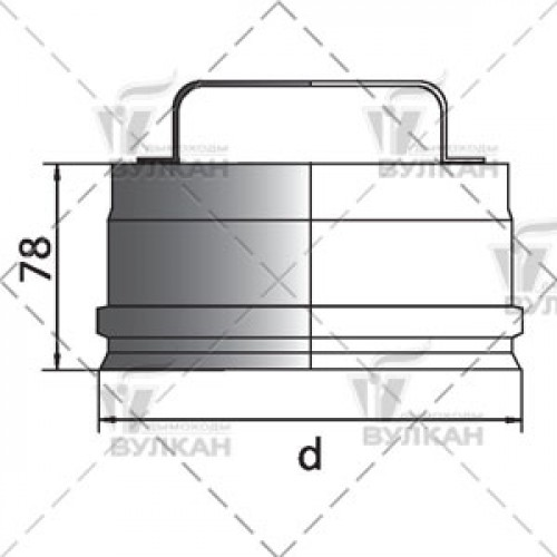 Ревизия (крышка) RHR 200 мм