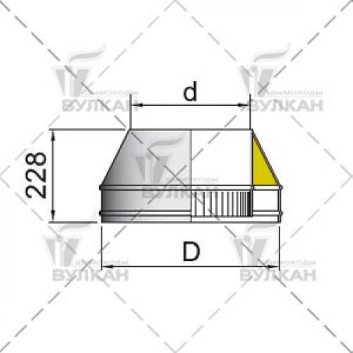 Конус DFH 160 мм