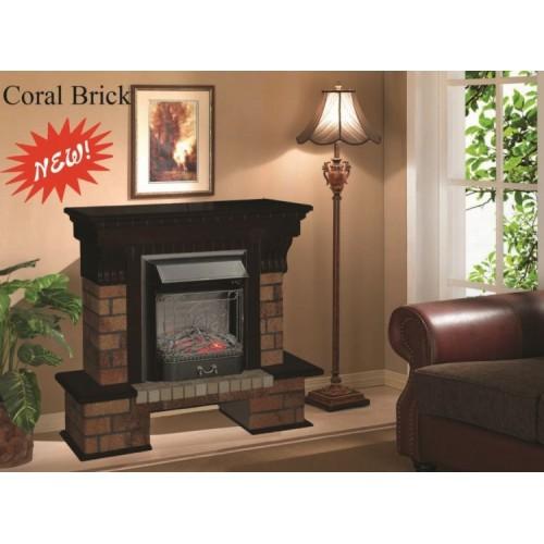 Каминокомплект Coral Brick-S