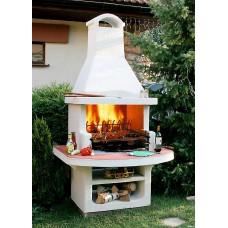 Садовая печь барбекю Престиж