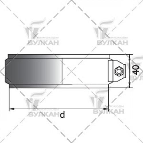 Хомут соединительный THHR 150 мм