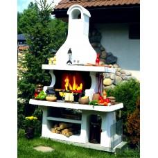 Садовая печь барбекю Пикник